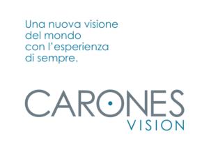 Carones Vision: nuovo logo e nuovo sito